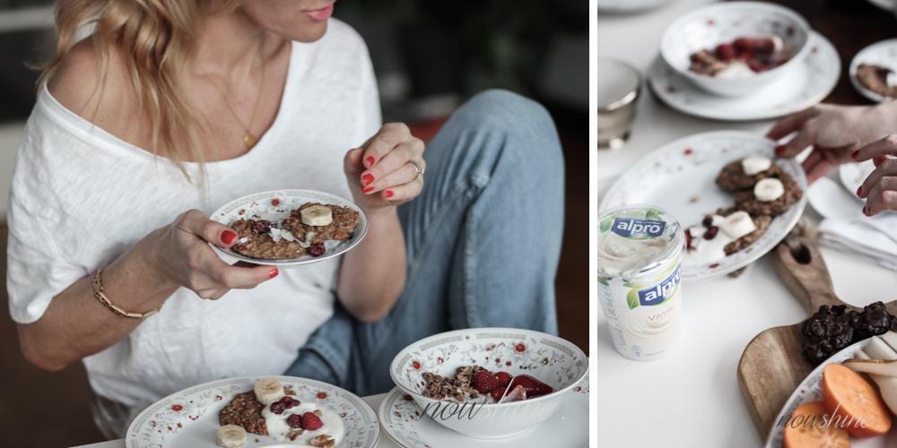 Alpo Breakfast Club Bananen Cookies/ Nowshine Lifestyle Food Blog über 40
