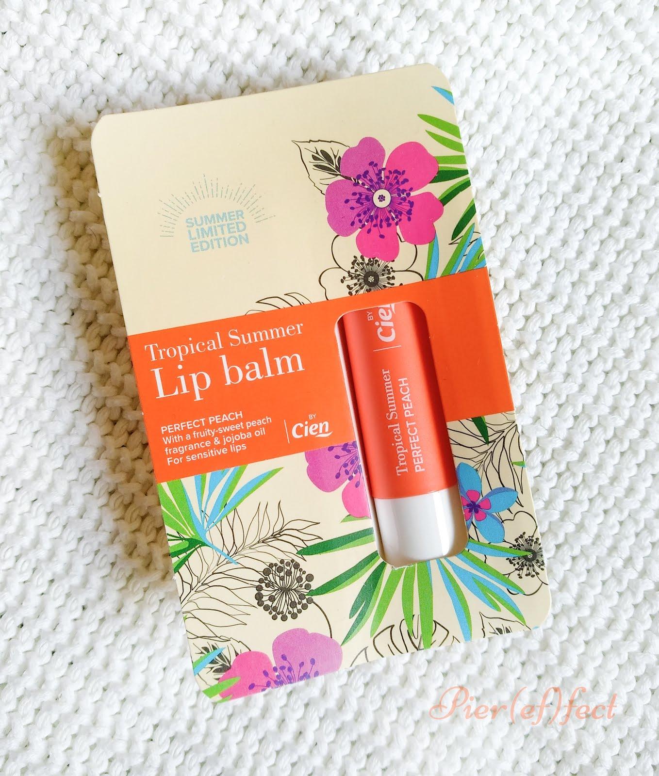 Cien Tropical Summer Lip Balm Perfect Peach