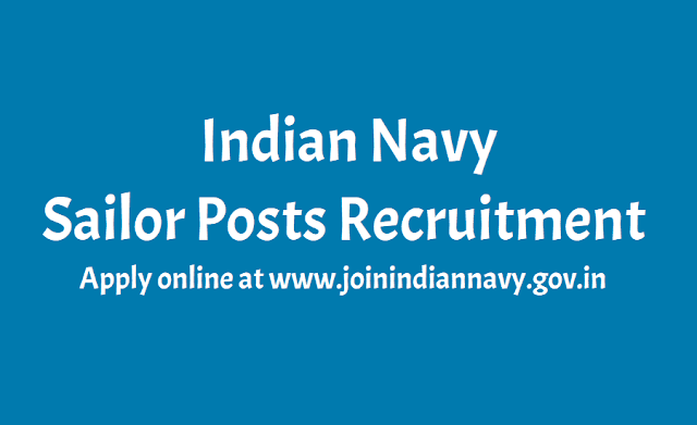Indian Navy Sailor Posts