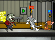 Tom and Jerry vs Zombies