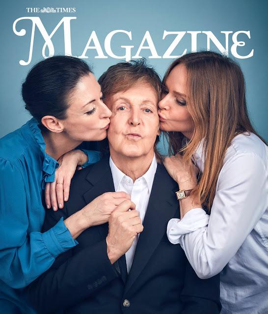 The Beatles Polska: Stella, Mary i Paul na okładce brytyjskiego The Times