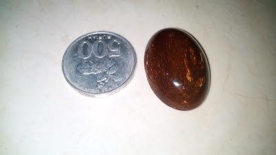 Batu Akik Katilayu Cirebon Warna Coklat