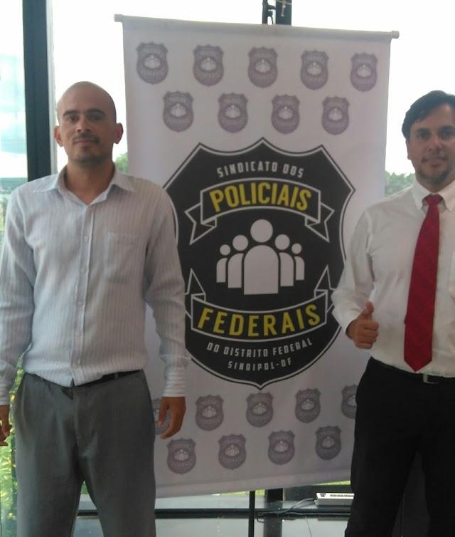 Gesio Neves destaca o bom trabalho da Polícia Federal