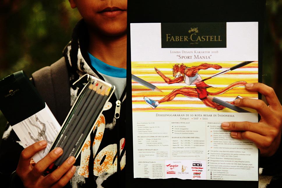 Lomba Gambar Desain Karakter Sport Mania Faber Castell 2018