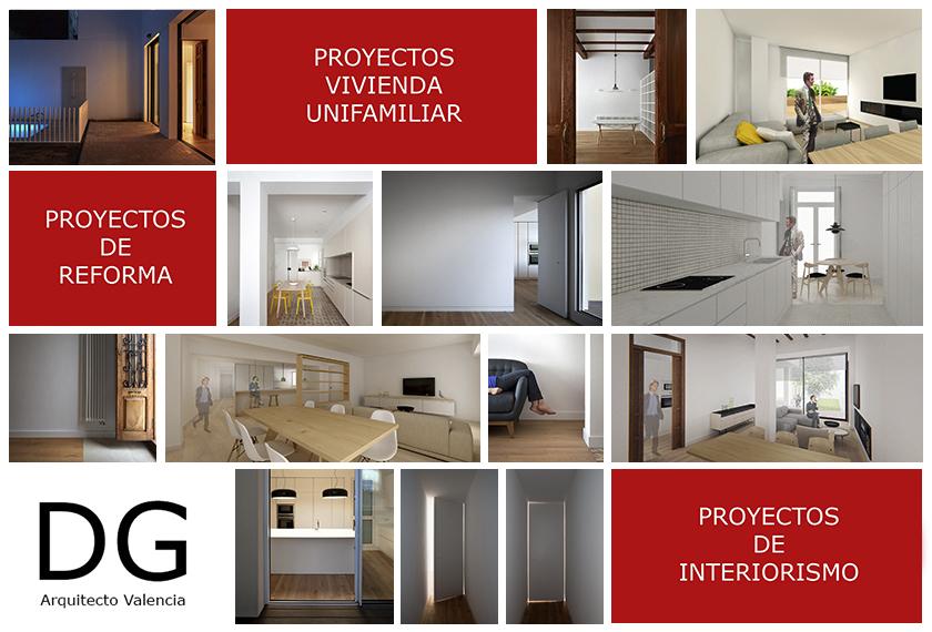 Estudio de arquitectura e interiorismo dg arquitecto for Curso interiorismo valencia