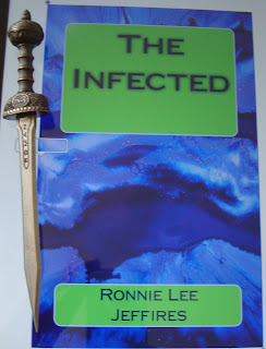 Portada del libro The Infected, de Ronnie Lee Jeffires