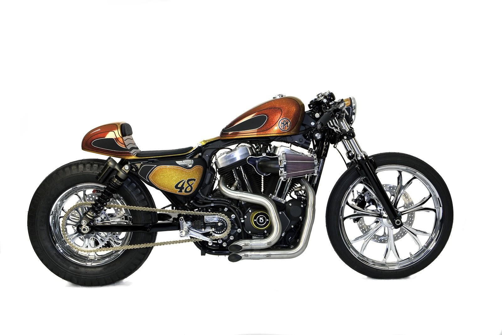Racing Caf U00e8  Harley Sportster  U0026quot 48 U0026quot  By Performance Machine