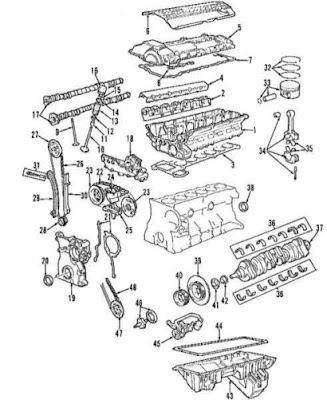 bmw i6 engine diagram