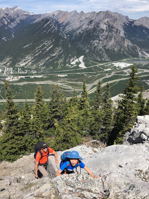 Heart Mountain Family Scramble, Family Adventures in the Canadian Rockies
