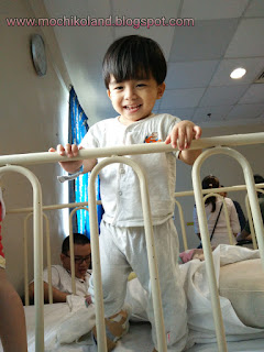 Haziq, neurology, hsijb, neuro paediatric, mild cerebral palsy