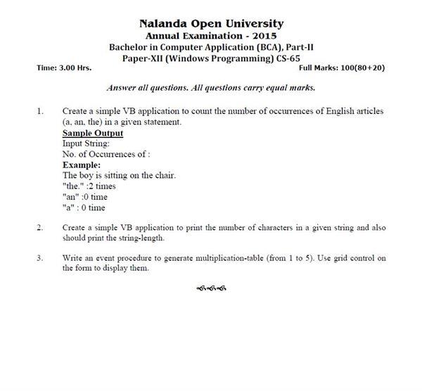 Question about Open University?