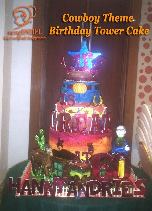 Gambar Kue Ulang Tahun Ondel Ondel