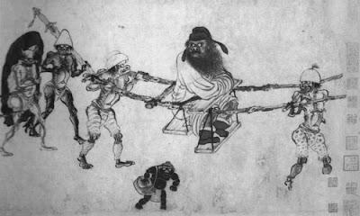 Cerita Legenda Zhoung Kui, Sang Dewa Neraka Pemburu Setan