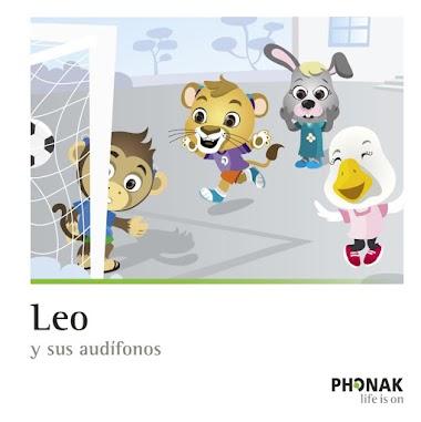 Leo y sus audífonos