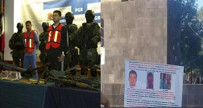 """GDL: En  narcomantas señalan que  jueces corruptos operaron para """"El Mencho"""" para la liberar a  """"El 85"""""""