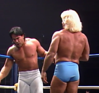 NWA Wrestlewar 1989 - Ricky Steamboat defends the NWA title against Ric Flair