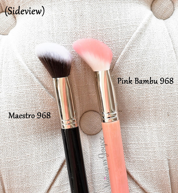 Bdellium Tools 968 Brush Review Maestro vs Pink Bambu