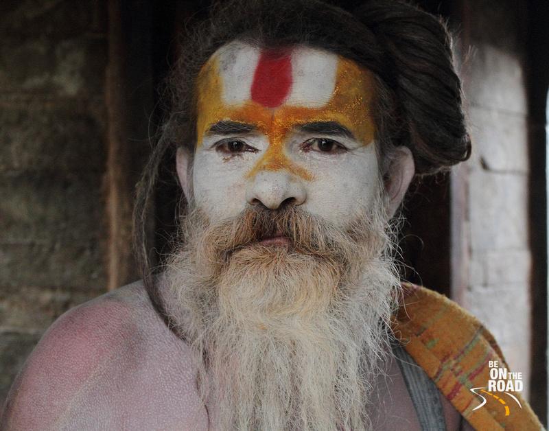 Sadhu at Pashupatinath temple, Kathmandu, Nepal