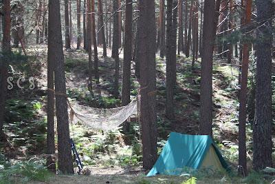 Zona acampada (Vinuesa, Soria) by Susana Cabeza