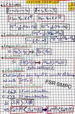 résumé liaison chimique smpc s2