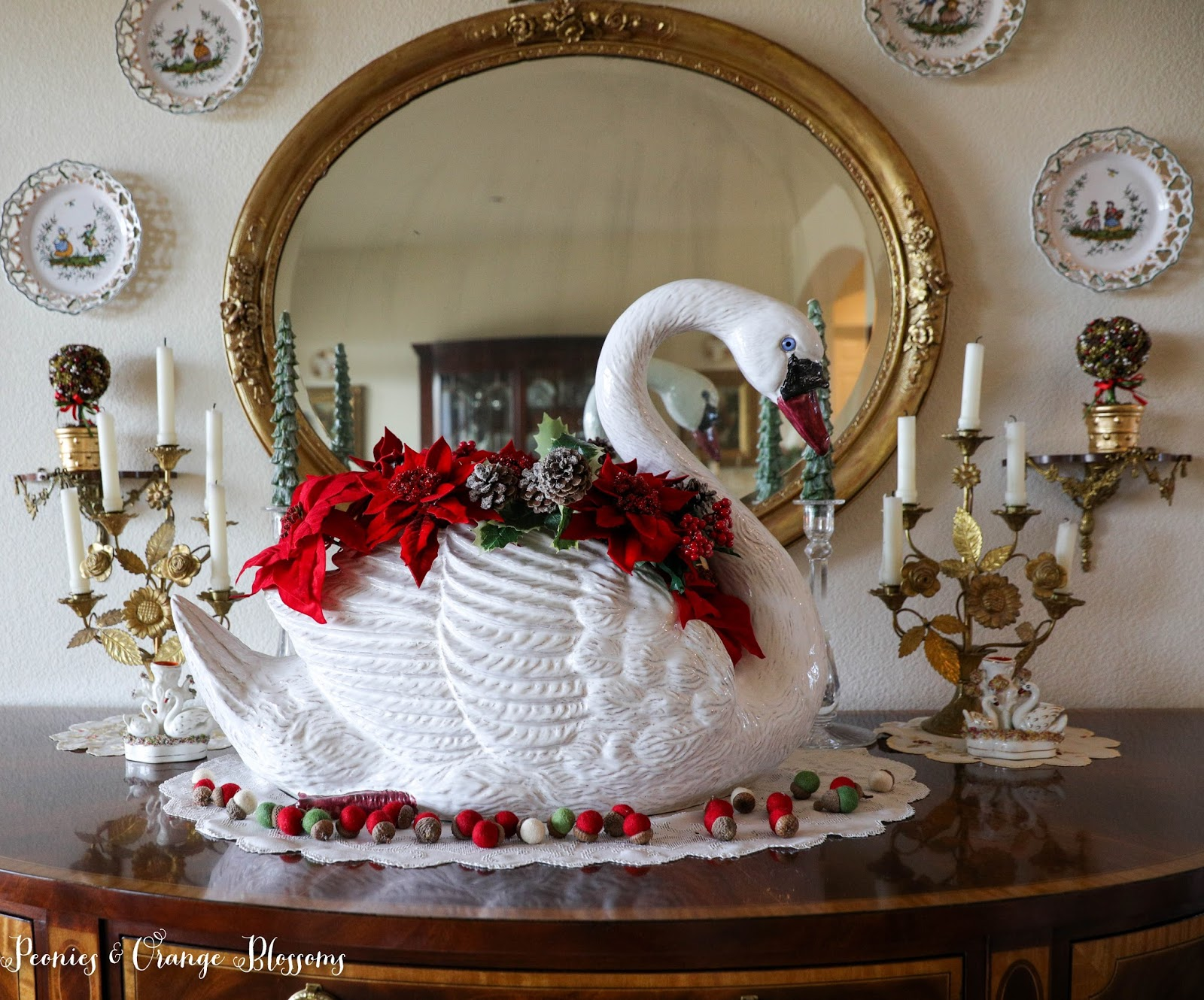 French Christmas Decorating Ideas