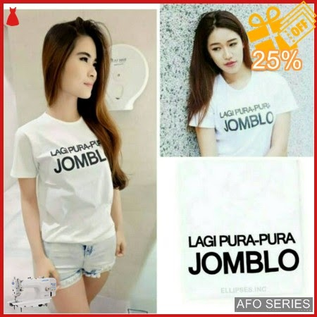 AFO290 Model Fashion PP Jomblo Tee Modis Murah BMGShop