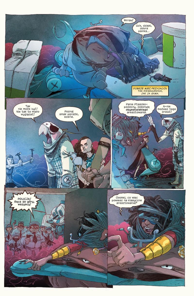 Ms Marvel tom 2: Pokolenie Czemu przykładowa strona