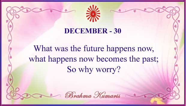 Thought For The Day December 30