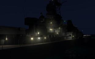 操舵が出来て 16 インチの主砲も撃てる Arma 3 用の戦艦 Iowa アドオン