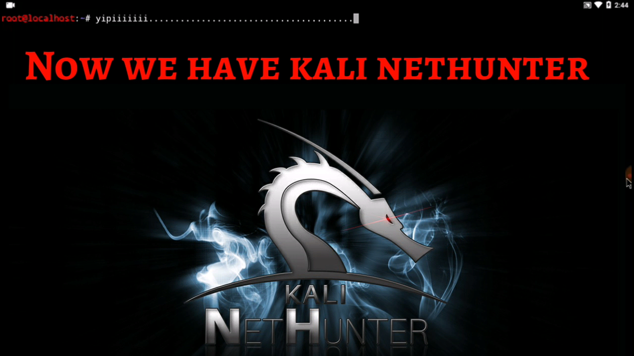 kali linux nethunter android app download