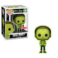 Funko Pop! Toxic Morty Target
