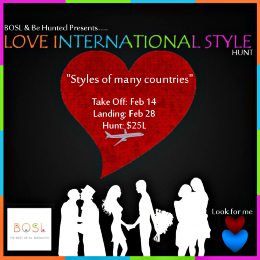 BOSL - Love International Style Hunt
