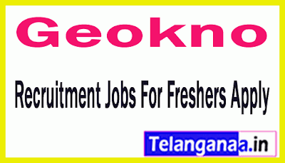 Geokno India Recruitment Jobs For Freshers Apply