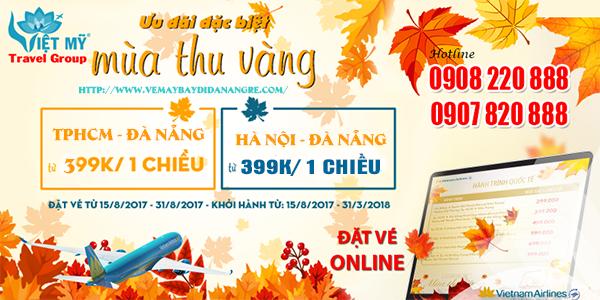 Khuyến mãi mùa thu vàng đi Đà Nẵng chỉ từ 399,000 đồng