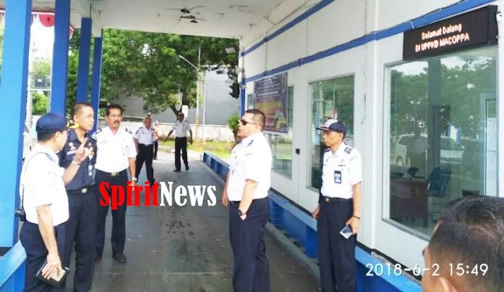 Tim Monitoring Pusat Tinjau Angkutan Lebaran Sulsel