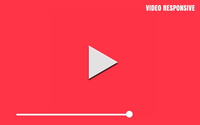 Tutorial Video Responsive