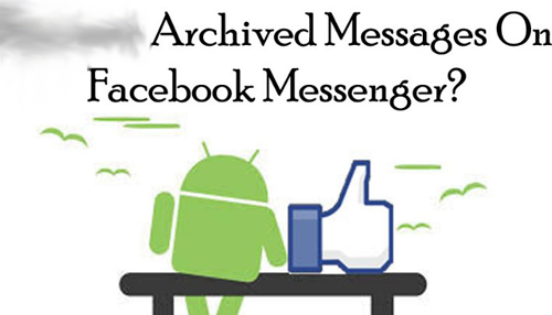 how to access archived messages on facebook