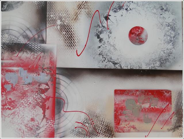 Tableau spray art home déco - peinture art moderne