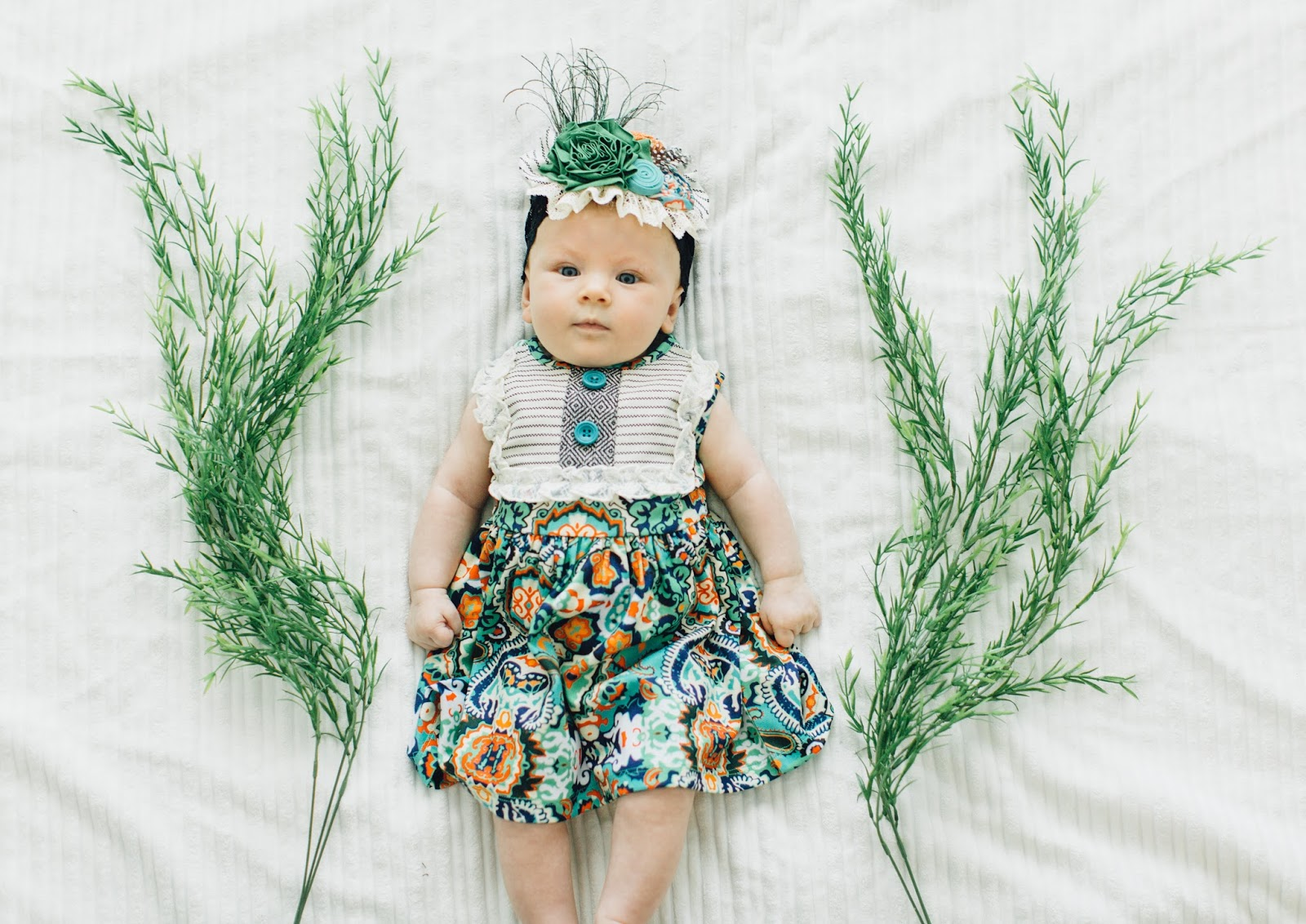 Persnickety Clothing, Lou Lou Dress, Baby Girl Spring Outfit