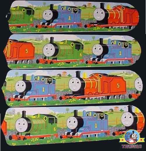 Thomas The Train And Friends 42 Inch Ceiling Fan Room