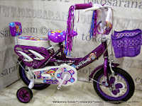 Sepeda Anak Piyo Piyo OPC (One Piece Crank) 12 Inci