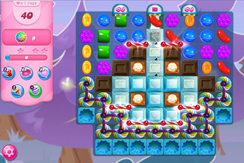Candy Crush Saga level 7432