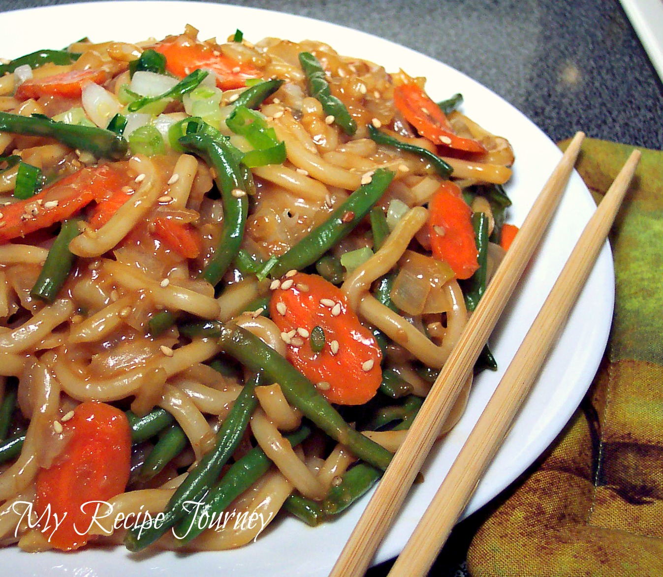 Thai Satay Udon Noodles! | Recipe Recipes