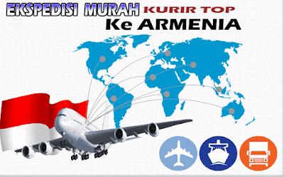 JASA EKSPEDISI MURAH KURIR TOP KE ARMENIA