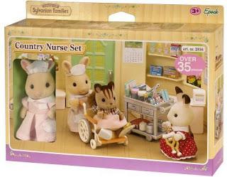 Figurki do zabawy w pielęgniarkę