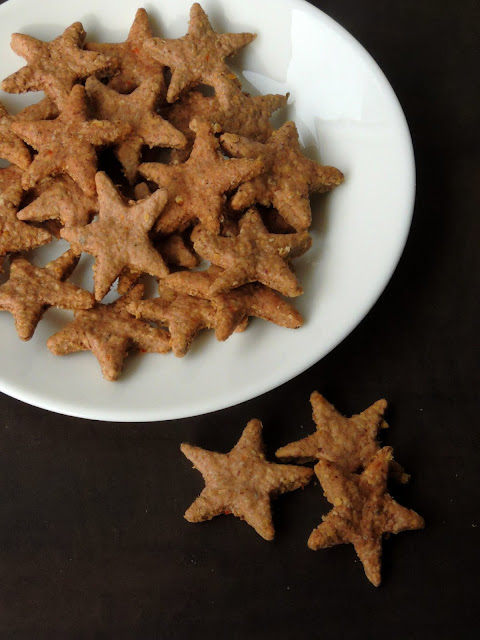 Spiced Fingermillet Biscuits, Vegan Ragi Biscuits