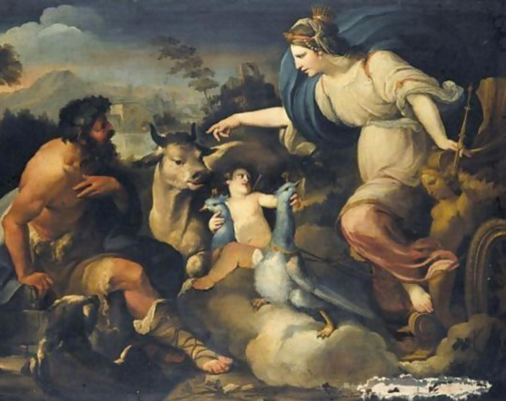 Who S Painting Is Prometheus Bound