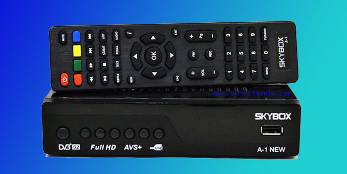 Cara Membedakan Skybox A1 New 4Mb dan 8Mb