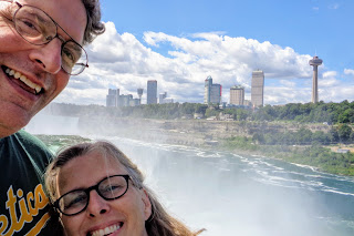 Dean and Mindy, Niagara Falls
