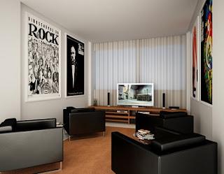 Diseño de sala pequeña